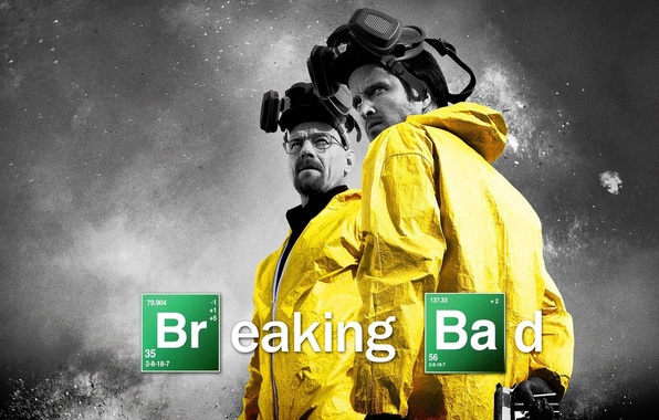 Картинка gun, pistol, weapon, Breaking Bad, series, men, glasses, mask, gloves, mustache, Bryan Cranston, AMC, teacher, …