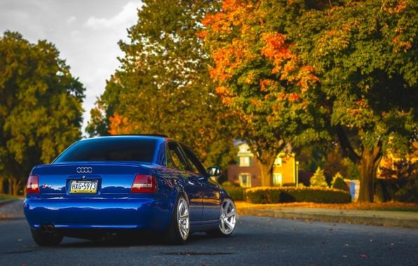 Картинка Audi, ауди, синяя, blue