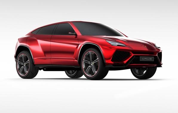 Картинка Concept, камни, Lamborghini, джип, концепт, 2012, ламборгини, Urus, урус
