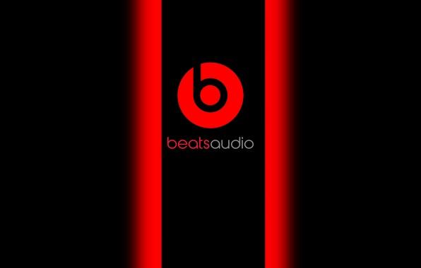 Картинка красный, черный, music, beats, audio, baetsaudio