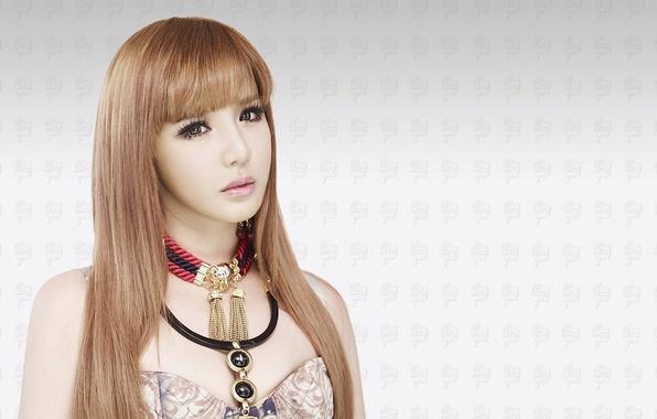 Картинка девушка, музыка, азиатка, Южная Корея, 2NE1, K-pop, BOM