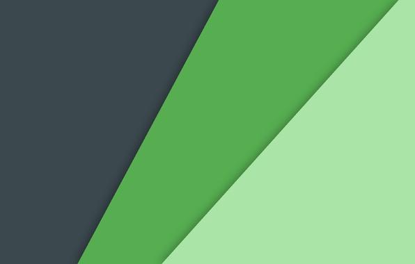 Фото обои зеленый, черный, Android, фон, текстура, линии