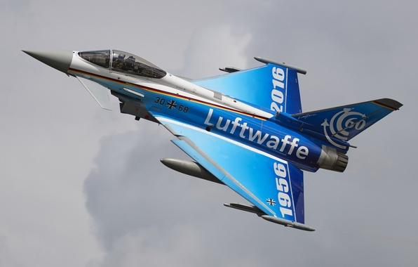 Картинка истребитель, многоцелевой, Typhoon, Eurofighter