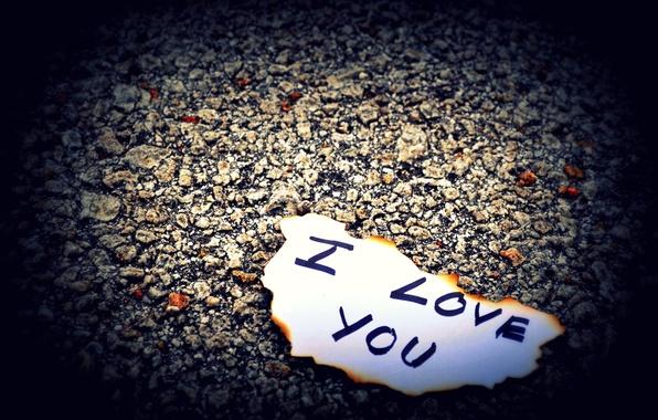 Картинка любовь, бумага, камни, земля, надпись, love, буква, чувство