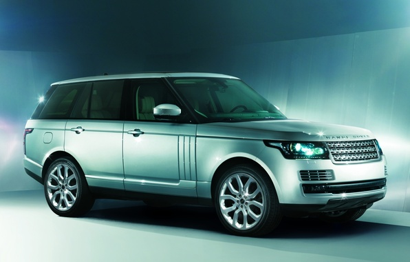 Картинка фон, джип, внедорожник, Land Rover, Range Rover, передок, Ленд Ровер, Ренж Ровер, Autobiography