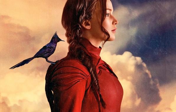 Картинка Jennifer Lawrence, Katniss Everdeen, Голодные игры:Сойка-пересмешница, The Hunger Games:Mockingjay - Part-2