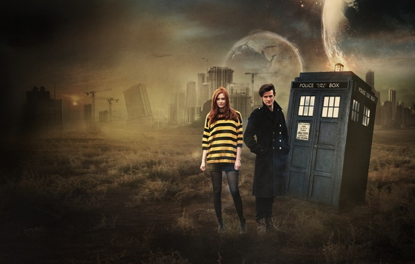 Картинка Doctor Who, Matt Smith, Karen Gillan, Eleventh