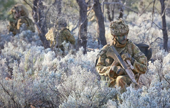 Картинка оружие, солдаты, Australian Army
