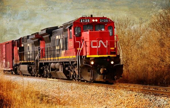 Картинка стиль, фон, поезд