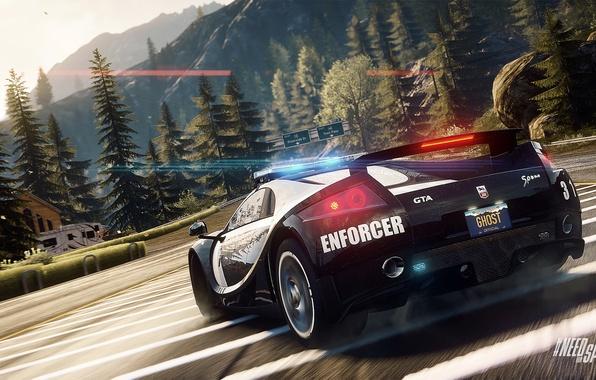 Descargar 1024x1024 Coches Salpicadero Agera Koenigsegg: Обои Police, Need For Speed, Nfs, 2013, Rivals, NFSR