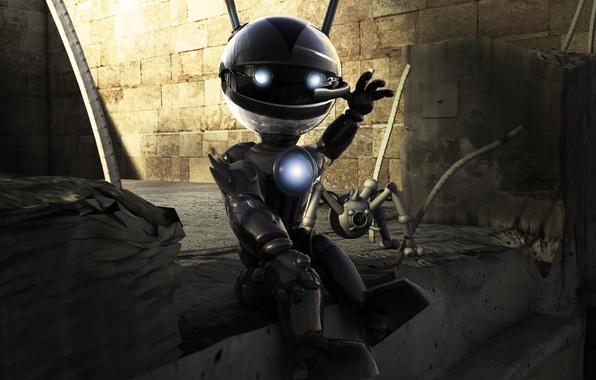 Робот 3d энергия 149 обои фото