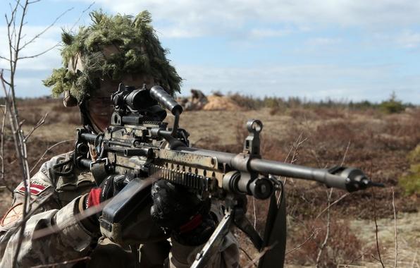 Картинка оружие, армия, солдат, Latvian Army