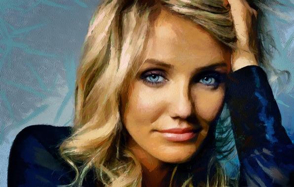 Картинка звезда, актриса, блондинка, Cameron Diaz