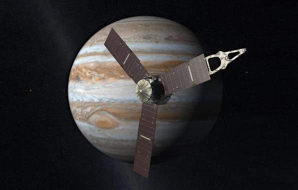 Картинка Юпитер, Юнона, зонд
