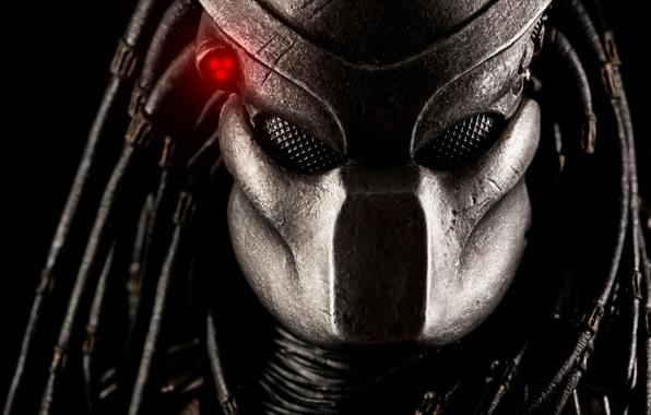Картинка хищник, существо, маска, шлем, Predator, тварь