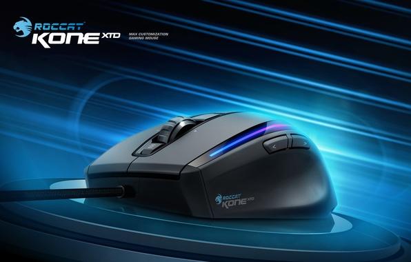 Картинка gaming, mouse, roccat, xtd, kone, kone xtd