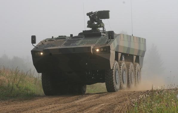 Картинка Оружие, Patria AMV, Бронетранспортер, Военная техника