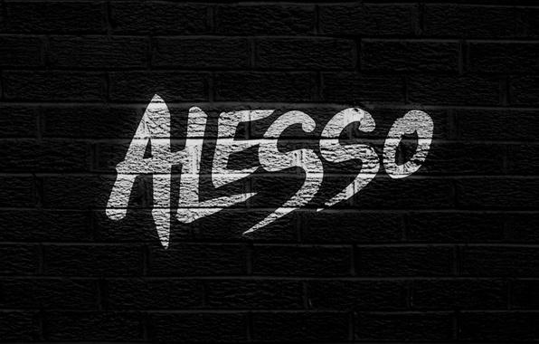 Картинка dark, wallpaper, wall, deadmau5, brick, Alesso, swedish