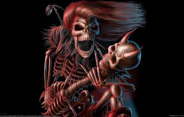 Картинка музыка, гитара, концерт, rock, рок, музыкант