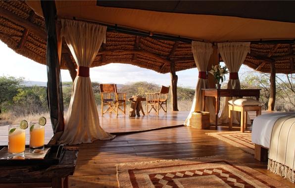 Картинка дизайн, стиль, интерьер, interior, safari, glamping, tent, глемпинг