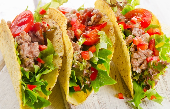 Картинка зелень, green, начинка, snack, закуска, лаваш, stuffing, Mexican food, мексиканская еда, pita bread