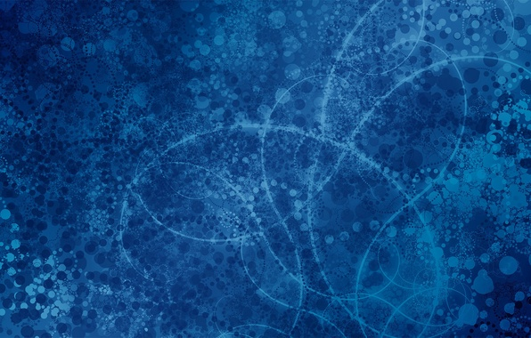 Картинка синий, абстракция, фон