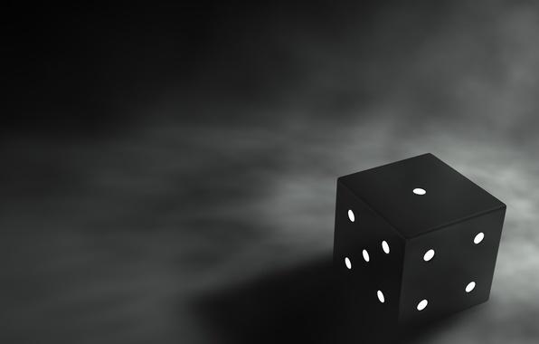 Картинка черно-белая, грани, 158, Кубик