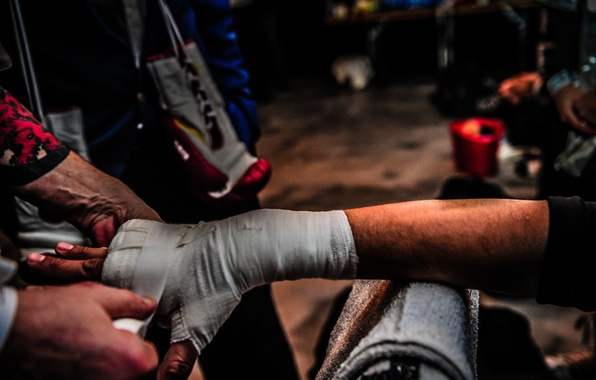 Картинка boxing, hand, preparations
