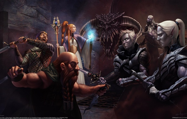 Картинки темные эльфы