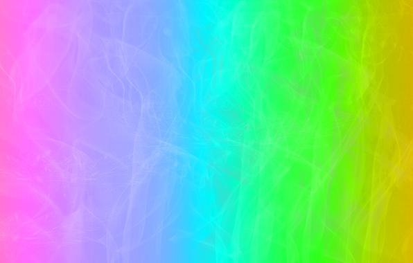 Картинка свет, дым, цвет, радуга, паутина
