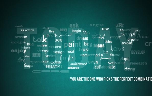 Картинка буквы, креатив, минимализм, слова