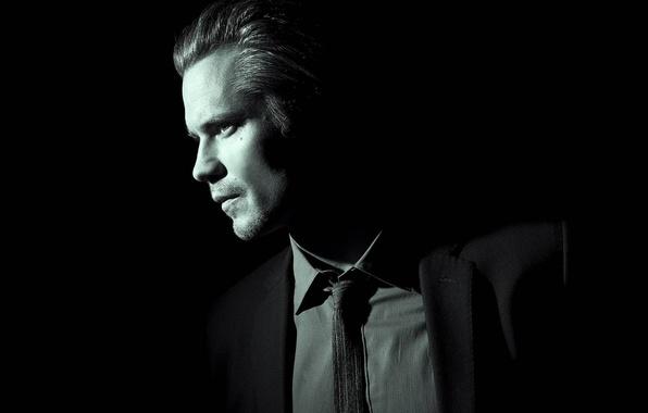 Картинка cinema, Hitman, USA, actor, Hawaii, man, movie, series, American, Honolulu, film, pose, suit, black background, …