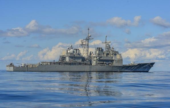 Картинка крейсер, ракетный, типа, (CG-61), «Тикондерога», USS Monterey
