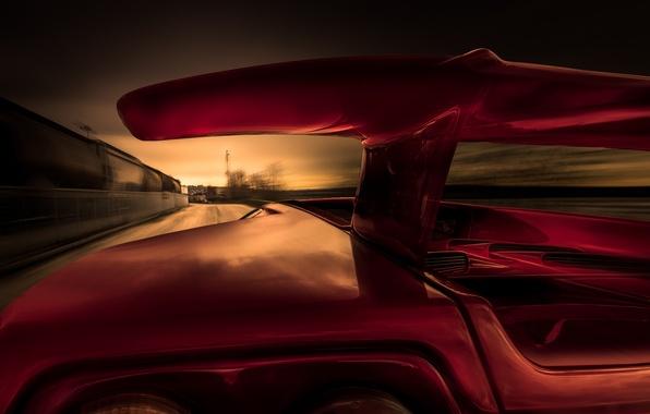 Картинка скорость, Lamborghini, Ламборджини, Diablo, Диабло, Supercar