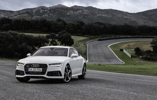 Картинка Audi, ауди, Sportback, 2014, RS 7