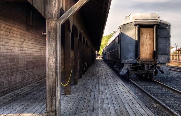 Картинка пути, настроение, рельсы, вагоны, железная дорога, поезда, шпалы, железные дороги, вокзалы