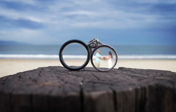 Картинка кольца, невеста, свадьба, жених