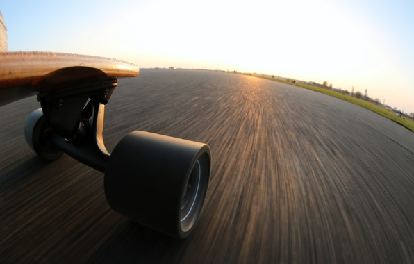 Картинка speed, skateboard, extreme perspektive