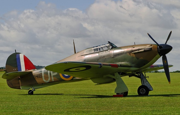 Hawker hurricane mk1 одноместный истребитель