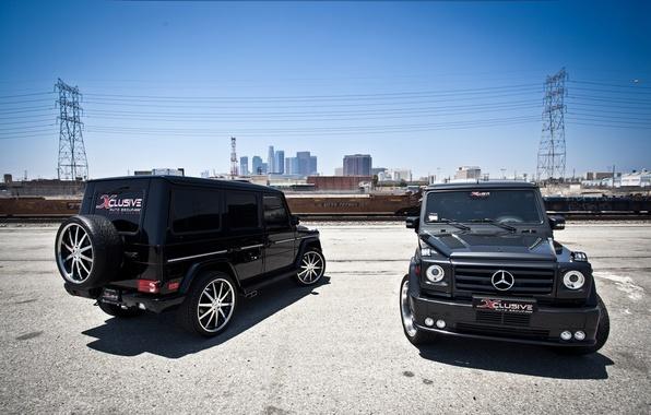 Картинка тюнинг, Mercedes, Benz, мерс, AMG, brabus, tuning, stance, g65