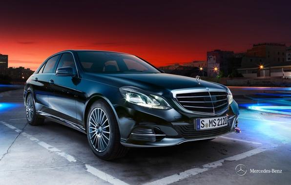 Картинка Mercedes-Benz, E-class, 2012, седан, мерседес, W212, Saloon