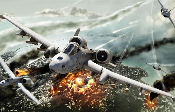 Картинка HAWX, Jet, A-10
