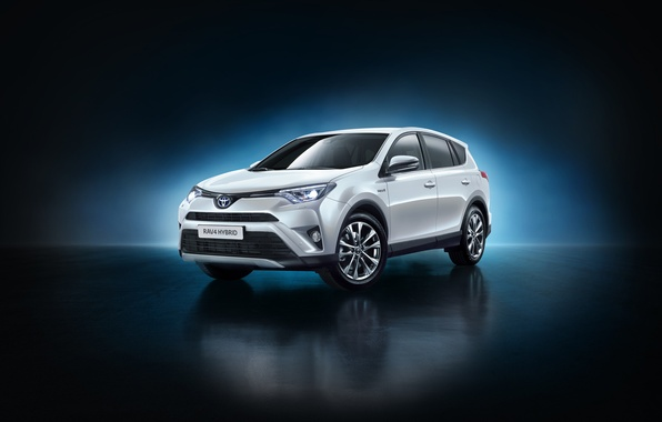 Картинка Toyota, Hybrid, гибрид, тойота, рав4, US-spec, 2015, RAV4