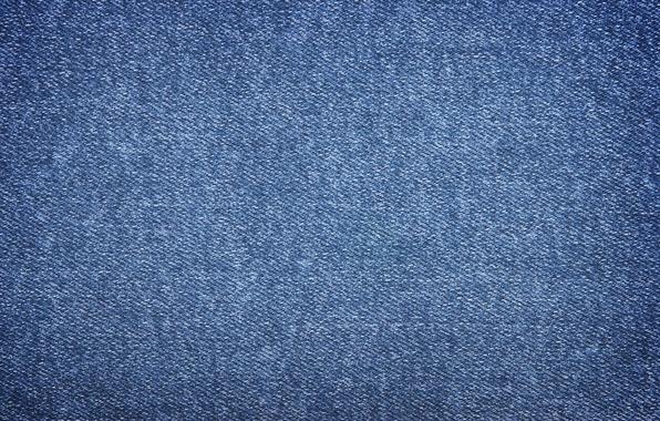 Фото обои синий, фон, джинсы, текстура, ткань, материал