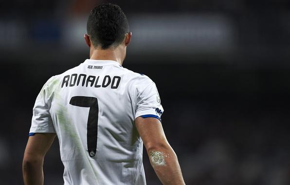 Картинка футбол, форма, Cristiano Ronaldo, футболист, football, игрок, Реал Мадрид, Real Madrid, Ronaldo, Роналдо, Кристиано Роналдо