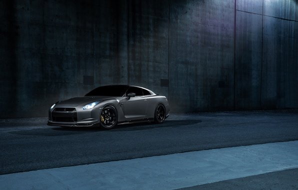 Картинка Imperial, Dark, GTR, Japan, Nissan, Car, California, Grey, Best, R35, Sport, Works
