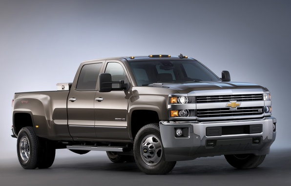 Картинка Chevrolet, шевроле, Crew Cab, LTZ, Silverado, 2014, сильверадо, GMTK2H, 3500 HD