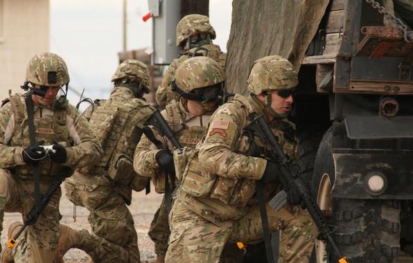 Картинка война, армия, солдаты, ирак, ranger