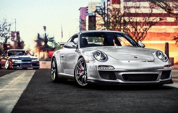 Картинка купе, 911, Porsche, порше, GT3