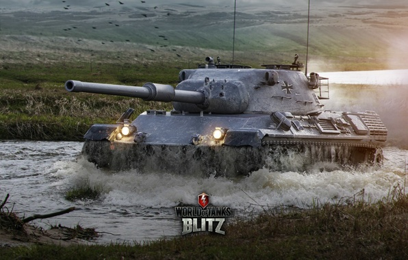 Картинка Германия, танк, танки, Germany, WoT, Мир танков, tank, World of Tanks, tanks, Wargaming.Net, Leopard 1, …